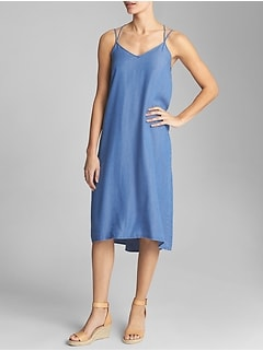 Two-Strap Cami Dress in TENCEL™