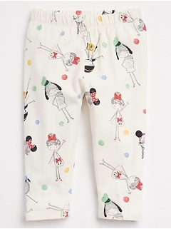 babyGap &#124 Disney Mickey Mouse Leggings in Stretch Jersey
