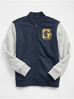 Graphic Zip Jacket