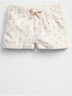 Pull-On Print Shorts