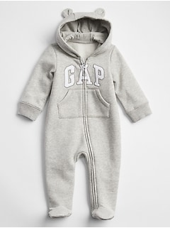 Baby Bear Footed One-Piece