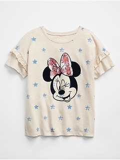 GapKids &#124 Disney Mickey and Minnie Mouse T-Shirt