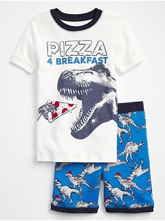Dino Short Sleep Set