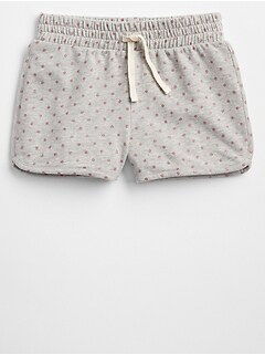 "2.5"" Print Pull-On Shorts"