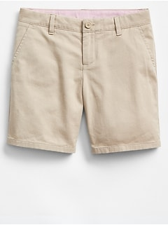 Uniform Midi Shorts