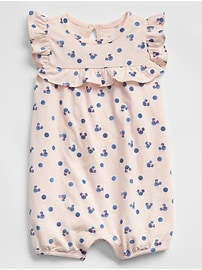 babyGap &#124 Disney Minnie Mouse Shorty One-Piece