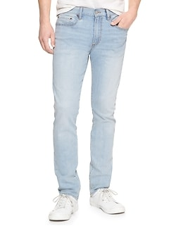 Skinny Straight Leg Wearlight Jeans