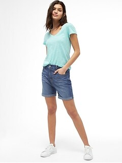 "Wearlight 5"" Relaxed Denim Shorts"