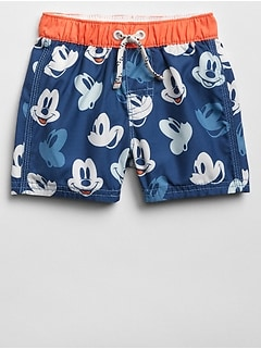 babyGap &#124 Disney Mickey Mouse Swim Trunks