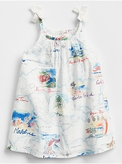 Map Graphic Dress