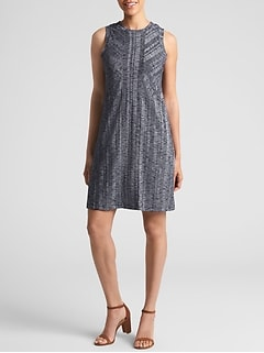 Ribbed Softspun Sleeveless Panel Dress