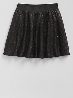 Sequin Flippy Skirt