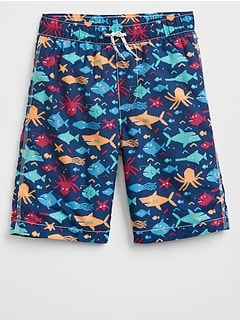 Sea Creature Swim Trunks