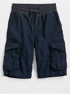 "8.5"" Lightweight Pull-On Cargo Shorts"