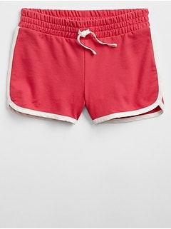 Contrast-Trim Shorts
