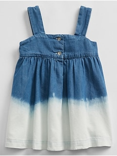 Denim Ombre Dress