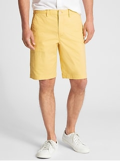 "10"" Lived-In Shorts in Stretch"