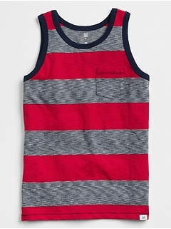 Stripe Tank in Jersey