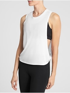 GapFit Twist Muscle Tank Top