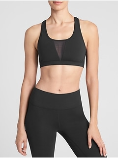 GapFit Medium Impact Keyhole Sports Bra