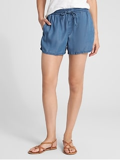 "3"" Drawstring Shorts in TENCEL&#8482"