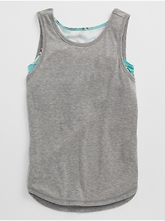 GapFit Kids 2-in-1 Tank