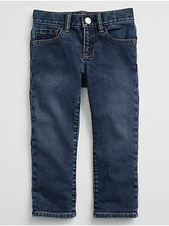 Straight Jeans in Stretch