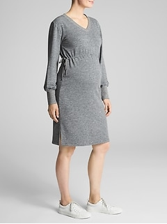 Maternity Sweatshirt Dress