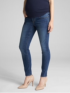 Maternity Demi Panel Jeggings