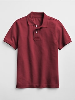 Uniform Short Sleeve Polo Shirt