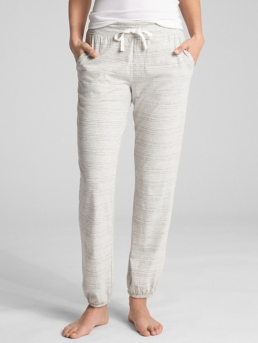 Print Joggers In Cotton Modal by Gap