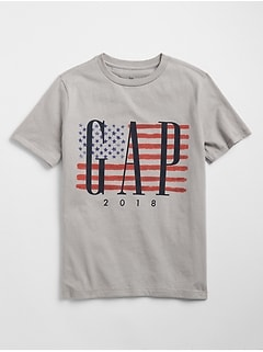 Flag Graphic T-Shirt