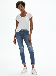 Wearlight Destructed Girlfriend Jeans