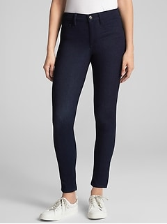 Soft Wear Mid Rise Knit Jeggings