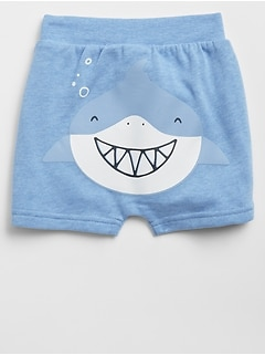 Shark Pull-On Shorts