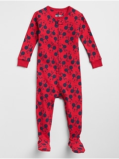 babyGap&#124 Disney Mickey Mouse Footed One-Piece