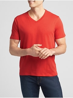 Everyday V-Neck T-Shirt in Jersey