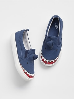 Shark Slip-On Sneakers