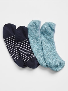 Mix No-Show Socks (2-Pack)