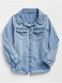 Toddler Chambray Shirt