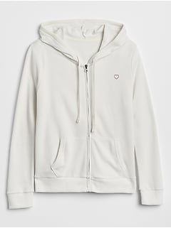 Logo Hoodie in French Terry