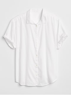 Short Sleeve Shirt in Weave