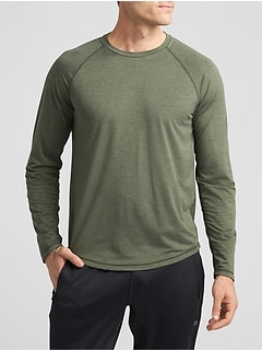 GapFit Long Sleeve Crew T-Shirt