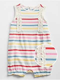 Stripe Shorty One-Piece