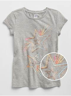 Embellished Graphic T-Shirt