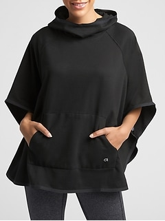 GapFit Fleece Poncho