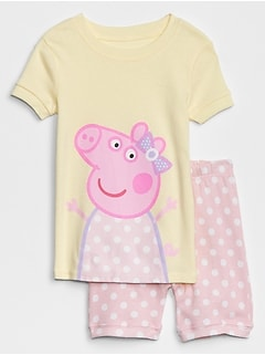 Pig Short Pajama Set