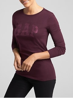 Long Sleeve Arch Logo T-Shirt