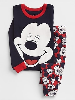 Babygap &#124 Disney Baby Mickey Mouse Pajama Set