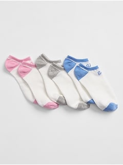 Logo No-Show Socks (3-Pack)